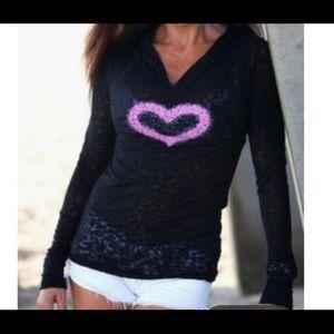 Binka heart hoodie